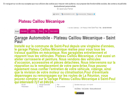 Garages automobiles - Plateau Caillou...
