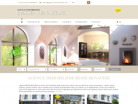 Agence immobilière BESSE RENAUDIE à TULLE