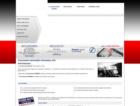 Carrossier Bordeaux - CARROSSERIE DUMAS :...