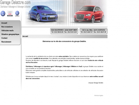 Accueil - Garage Delattre Audruicq - Saint-Omer