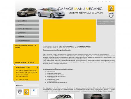 GARAGE MANU MECANIC - Garage Nord Pas...