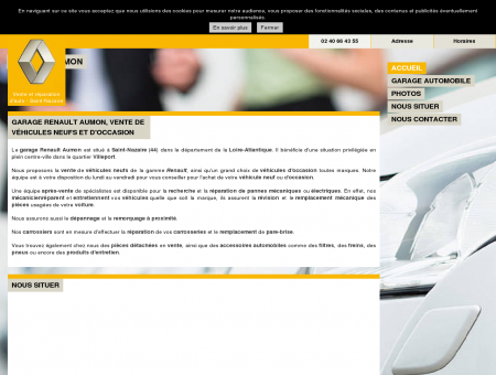 Garage Renault Aumon à Saint-Nazaire (44) :...
