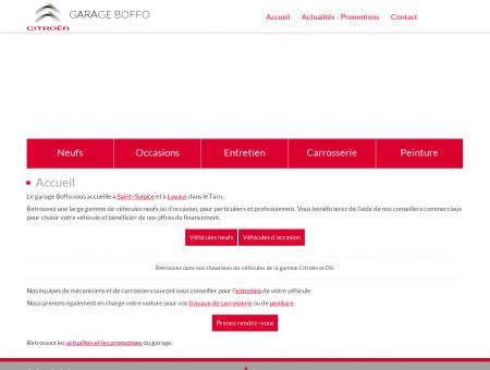 Garage Boffo : garage automobile Citroën à...