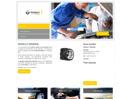 Garage auto Renault Branne : Votre spécialiste...