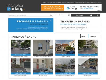 Location parking : louer, vendre un parking,...