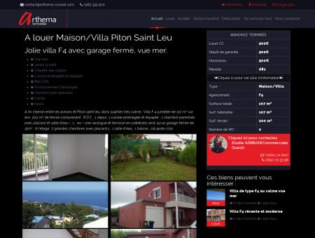 A louer Maison/Villa Piton Saint Leu -...