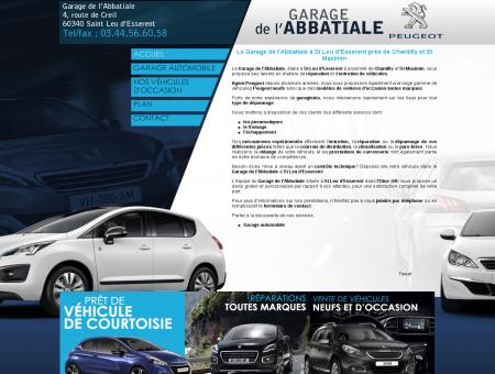 Le Garage de l'Abbatiale à St Leu d'Esserent...