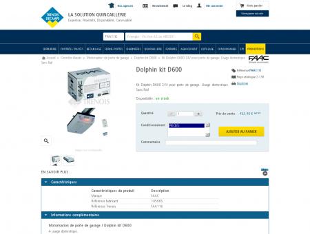 Dolphin kit D600 Kit Dolphin D600 24V pour...