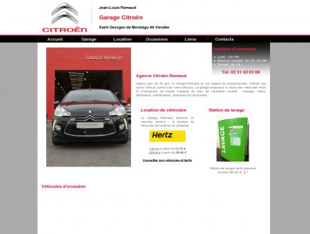 Garage automobile Jean-Louis Remaud à Saint...