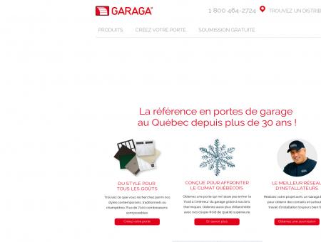 Portes de garage Garaga® | La référence au...