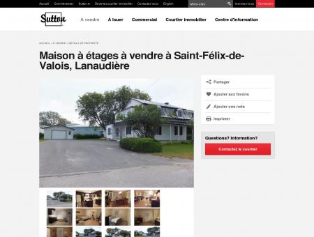 Maison à étages à vendre à Saint-Félix-de...