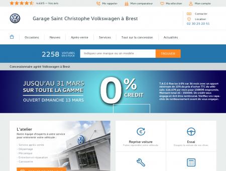 Garage Saint Christophe Volkswagen Brest :...