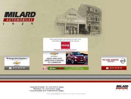 Garage concessionnaire Nissan - Chevrolet -...