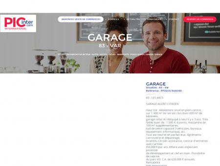 GARAGE À VENDRE (83 - Var) - Le site...