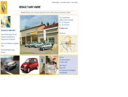Garage Renault Saint Andre - Mandataire auto...