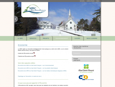 MRC HSF - Éco-centre