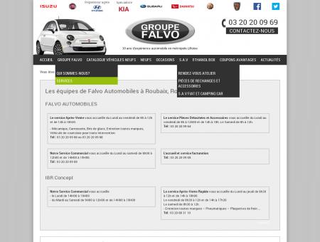 Equipe de Falvo Auto, garage automobile à...