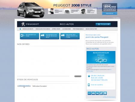RICCI AUTOS - Garage Peugeot,...