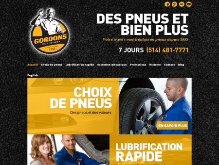 Garage mécanique : pneus, freins, huile, service...