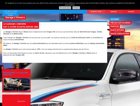 Garage BMW dans les Vosges (88)