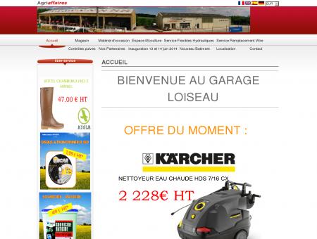 Garage Loiseau - Accueil