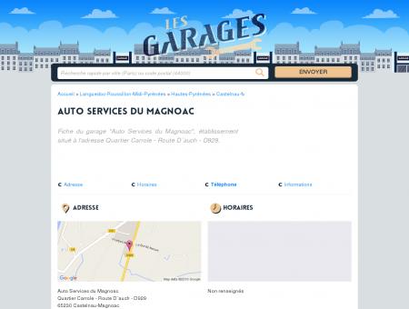 Auto Services du Magnoac - Garage -...