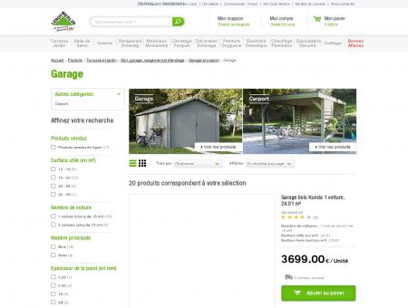 Garages - Garage et carport | Leroy Merlin