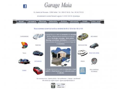 Garage Maia spécialisé dans la carrosserie,...