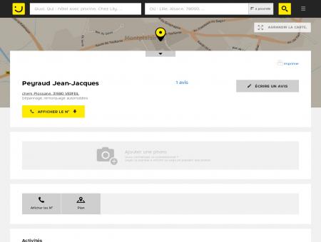 Peyraud Jean-Jacques Verfeil (adresse, avis)
