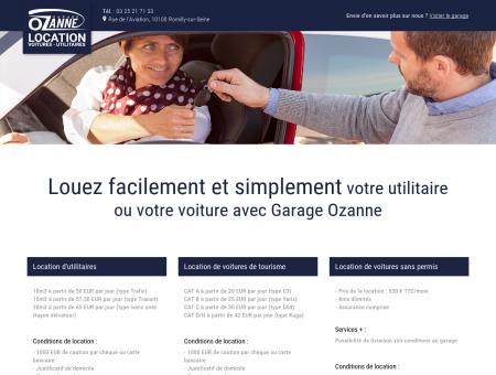 Garage Ozanne - Location voitures/Utilitaires