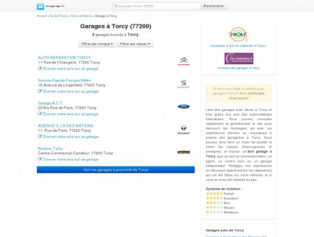 Garage Torcy (77200) - Comparatif des...