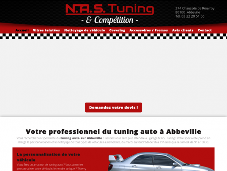 Tuning auto Abbeville : accessoires - N.A.S...