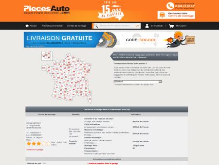 Garage auto 59, Nord / PiecesAuto - Pièces...