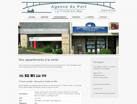 Agence du Port La Trinité sur Mer - Conseil...