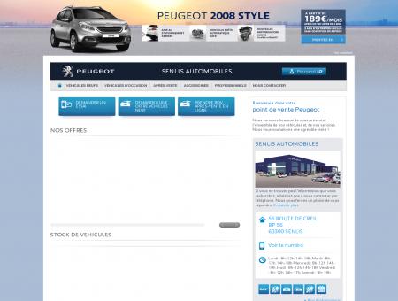 SENLIS AUTOMOBILES - Garage Peugeot,...