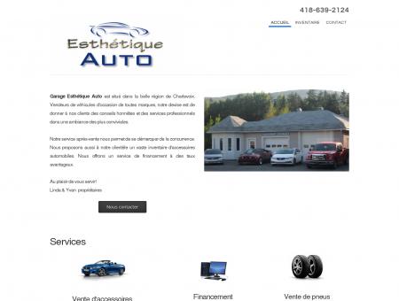 Garage Esthétique Auto - Accueil