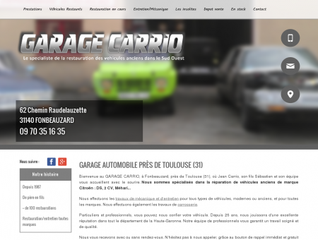 Accueil | Garage Carrio | Fonbeauzard (31)