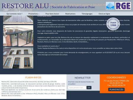 Menuiserie aluminium Lille : Fabricant Portail,...