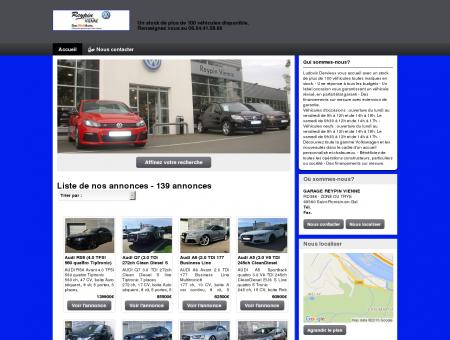 GARAGE REYPIN VIENNE : vente véhicules...