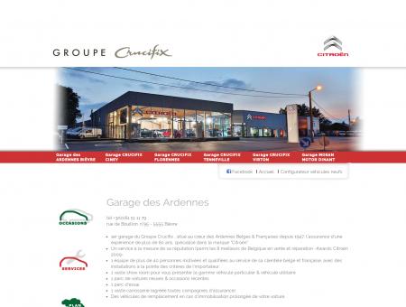 Garage des Ardennes | Groupe Crucifix