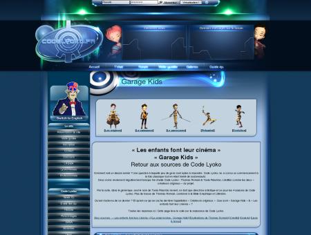 Histoire de Code Lyoko > Garage Kids  Code...