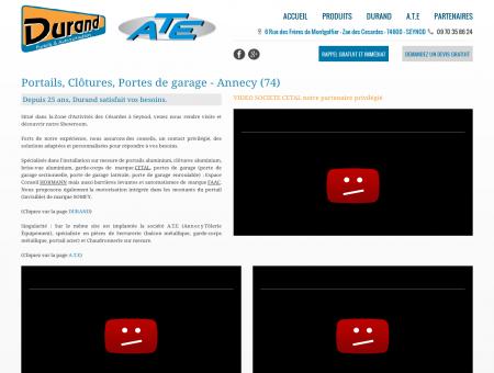 Portails, Clôtures, Portes de garage - Annecy (74)