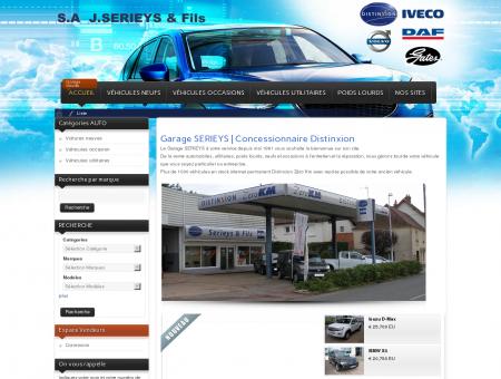 Garage SERIEYS | ventes voitures neuves et...