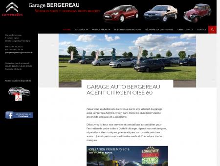Garage Auto Oise Bergereau Agent Citroën...