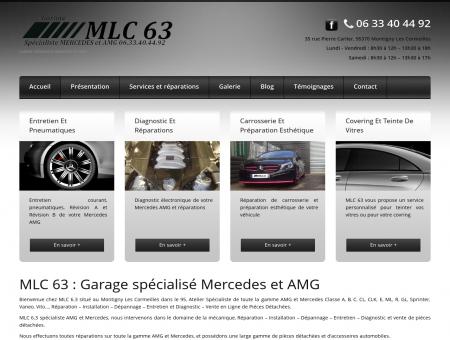 Garage spécialisé Mercedes et AMG | MLC 63