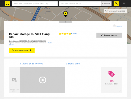 Renault Garage du Vieil Etang Montigny le...