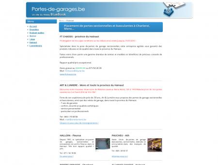 Portes de garage dans le Hainaut : Charleroi,...