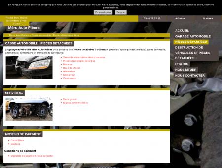 Casses automobiles (pièces détachées) Méru -...