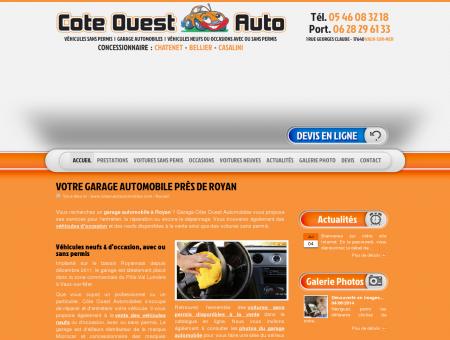 Garage Rochefort : voitures sans permis - Côte...