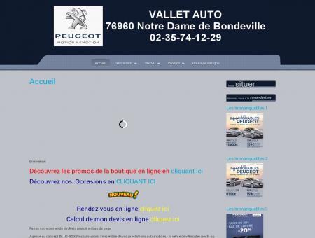 Garage Vallet - Peugeot Notre Dame de...